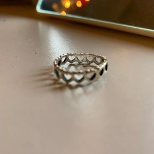 James Avery heart ring
